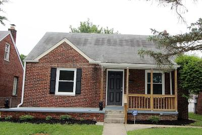 Columbus Single Family Home For Sale: 579 Butler Avenue