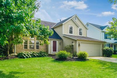 Hilliard Single Family Home Contingent Finance And Inspect: 3853 Stonesthrow Lane