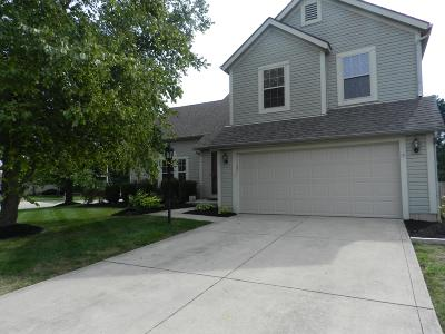 Hilliard Single Family Home Contingent Finance And Inspect: 3154 Serpentine Drive