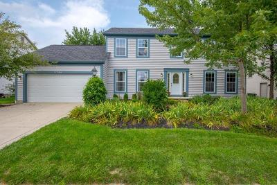 Hilliard Single Family Home Sold: 3798 Dayspring Drive