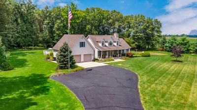 Circleville Single Family Home For Sale: 17621 Commercial Point Road