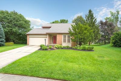 Hilliard Single Family Home Contingent Finance And Inspect: 3368 Woods Mill Drive