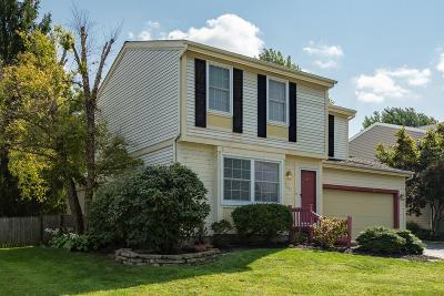 Hilliard Single Family Home Contingent Finance And Inspect: 1789 Galleon Boulevard