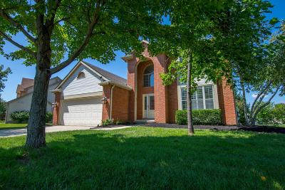 Lewis Center Single Family Home Contingent Finance And Inspect: 1805 Pinecone Court