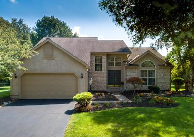 Dublin Single Family Home Contingent Finance And Inspect: 7826 Wiltshire Drive