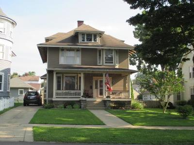 Mount Vernon Single Family Home Contingent Finance And Inspect: 523 E Gambier Street