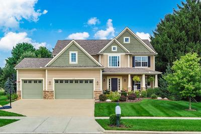 Lewis Center Single Family Home Sold: 3139 Avonlea Way