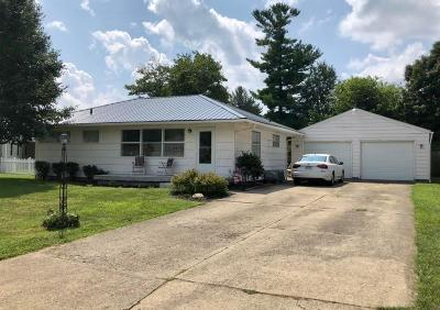 Chillicothe OH Single Family Home For Sale: $139,900