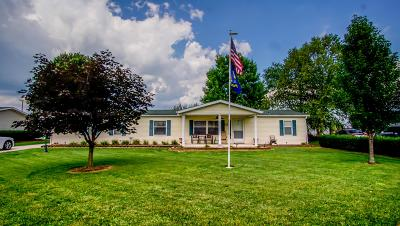 Frazeysburg Single Family Home Contingent Finance And Inspect: 12 Stevy Lane