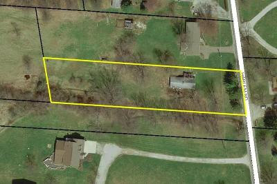 Galena Residential Lots & Land Contingent Finance And Inspect: 5148 Harlem Road