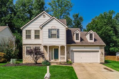 Reynoldsburg Single Family Home Contingent Finance And Inspect: 1095 Bergenia Drive