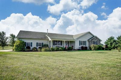 Union County Single Family Home Contingent Finance And Inspect: 10759 Oh-47