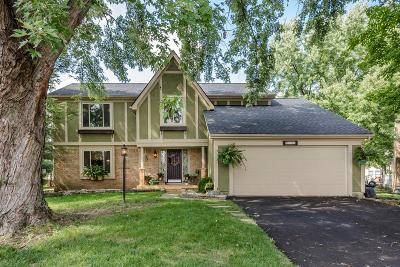 Dublin Single Family Home Contingent Finance And Inspect: 2210 Shadmill Court