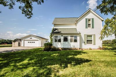 Centerburg Single Family Home Contingent Finance And Inspect: 5919 N County Line Road