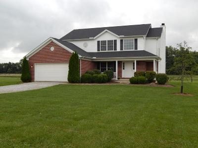 Centerburg Single Family Home Contingent Finance And Inspect: 6213 Quick Lane