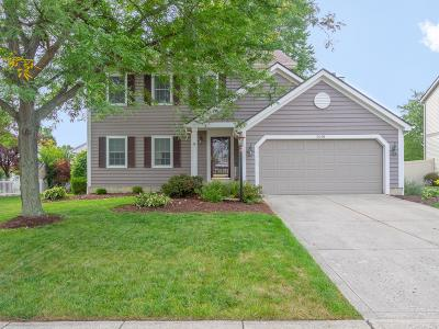 Hilliard Single Family Home Contingent Finance And Inspect: 5091 Dixon Drive