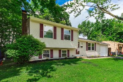 Westerville Single Family Home Contingent Finance And Inspect: 5585 Spohn Drive