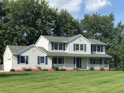 Centerburg Single Family Home For Sale: 6523 White Road