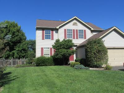 Lewis Center Single Family Home Contingent Finance And Inspect: 8410 Oak Creek Drive