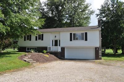Pleasantville Single Family Home Contingent Finance And Inspect: 8600 Lancaster Thornville Road NE