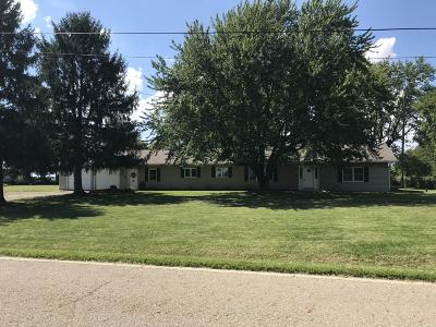 Ashville Single Family Home For Sale: 17321 Ringgold Northern Road