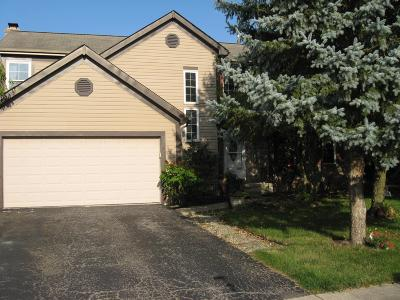 Hilliard Single Family Home Contingent Finance And Inspect: 5626 Cowall Court