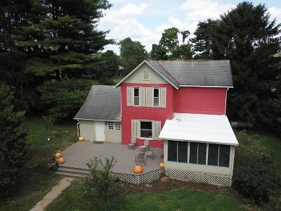 Newark Single Family Home For Sale: 5539 Fallsburg Road NE