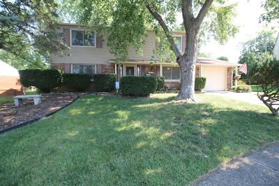 Westerville Single Family Home Contingent Finance And Inspect: 3508 Canberra Court
