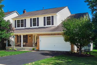 Lewis Center Single Family Home Contingent Finance And Inspect: 7395 Summerfield Drive