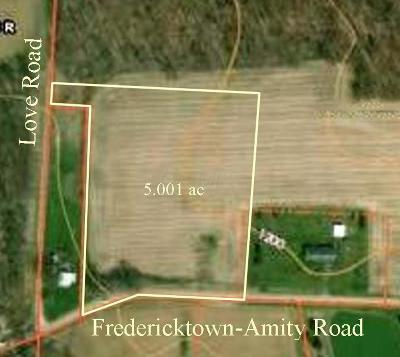 Fredericktown Residential Lots & Land For Sale: Upper Fredricktown Amity Rd