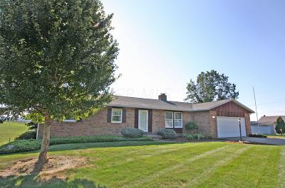 Fredericktown Single Family Home Contingent Finance And Inspect: 21220 Zolman Road