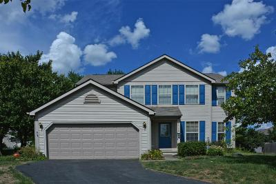 Canal Winchester Single Family Home Contingent Finance And Inspect: 6410 Stretton Place
