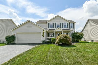 Reynoldsburg Single Family Home Contingent Finance And Inspect: 8045 Reynoldswood Drive