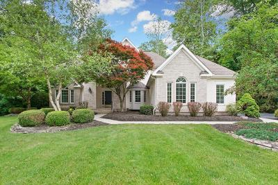 Westerville Single Family Home For Sale: 5444 Quail Hollow Way