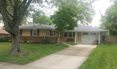 Westerville Single Family Home Contingent Finance And Inspect: 3594 Stockholm Road