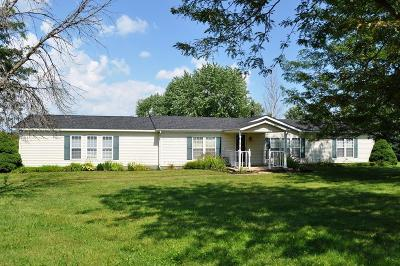 Millersport Single Family Home Contingent Finance And Inspect: 4156 Geiger Road