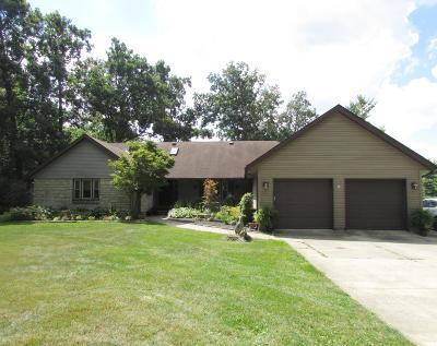Plain City Single Family Home For Sale: 15433 Hagenderfer Road