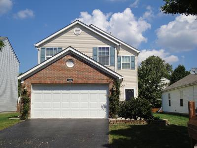 Hilliard Single Family Home Contingent Finance And Inspect: 5806 Trailwater Lane
