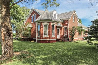 Single Family Home Contingent Finance And Inspect: 10540 Lancaster Circleville Road SW
