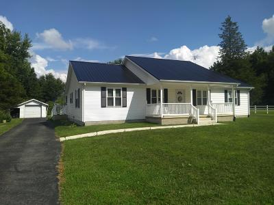 Cardington Single Family Home Contingent Finance And Inspect: 2136 S Caledonia Ashley Road