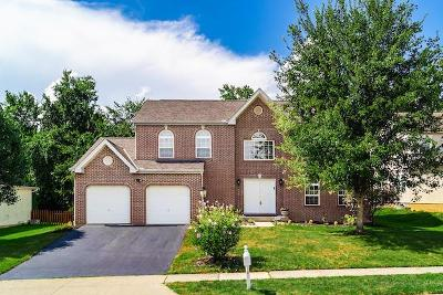 Reynoldsburg Single Family Home Contingent Finance And Inspect: 2053 Stone Valley Place