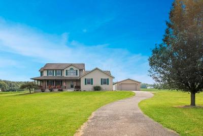 Heath Single Family Home Contingent Finance And Inspect: 5887 S Fork Road