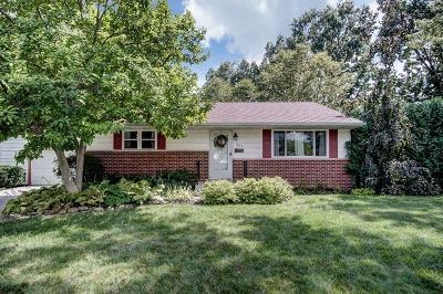 Westerville Single Family Home Contingent Finance And Inspect: 491 Catawba Court
