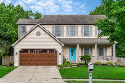 Westerville Single Family Home Contingent Finance And Inspect: 609 Ozem Gardner Way