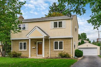 Upper Arlington Single Family Home For Sale: 2208 Dorset Road