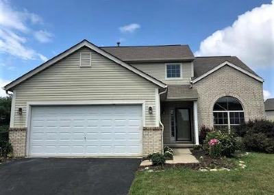 Reynoldsburg Single Family Home Contingent Finance And Inspect: 9212 Firstgate Drive