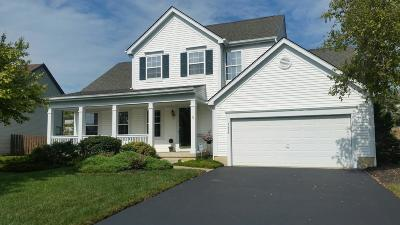 Grove City Single Family Home Contingent Finance And Inspect: 1456 Great Hunter Drive