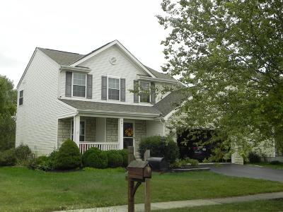 Pickerington Single Family Home Contingent Finance And Inspect: 491 Yale Circle