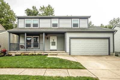 Gahanna Single Family Home Contingent Finance And Inspect: 4509 Big Walnutview Drive