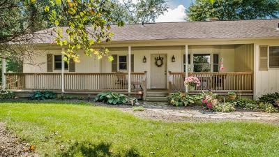 Delaware Single Family Home For Sale: 2517 Bean-Oller Road